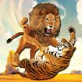 Ultimate Lion Vs Tiger: Wild Jungle Adventure APK