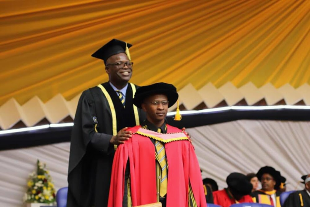 Artist cop gets his doctorate in education - SowetanLIVE