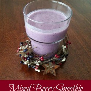 Mixed Berry Smoothie Recipe
