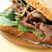 Beef K-Food Sandwich