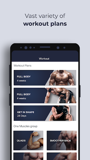 Gym Workout , Routines Planner & Personal Trainer 5.5.8 screenshots 1