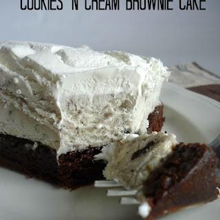 Cookies N Cream Brownie Cake