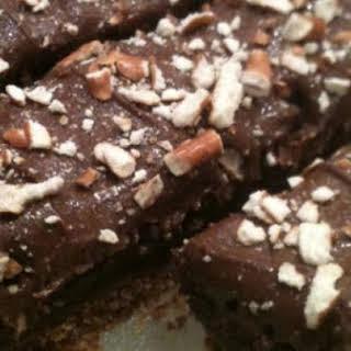 Nutella Pretzel Brownie Bars.