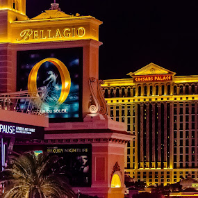 Vegas At Night by Robert Smith - Uncategorized All Uncategorized ( lights, las vegas, night photography, contest, casino,  )