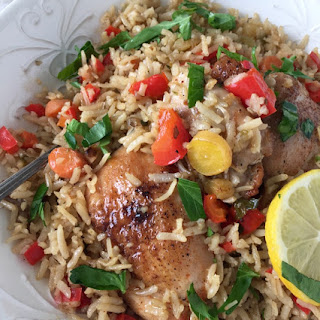 Chicken Pilaf Recipe with Quick Cook Brown Rice