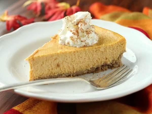 Gluten Free Pumpkin Cheesecake_image