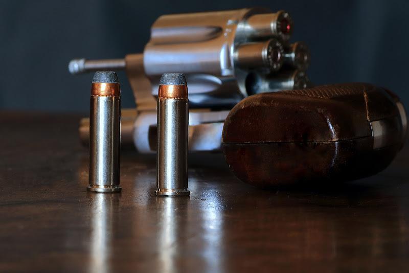 Metallo revolver...oso di rip