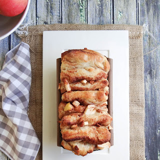 Cinnamon Apple Pecan Pull Apart Bread