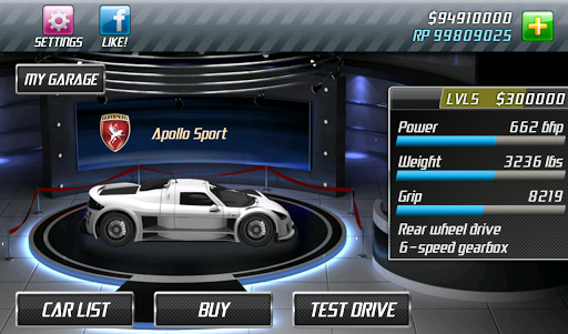 Drag Racing screenshot 15