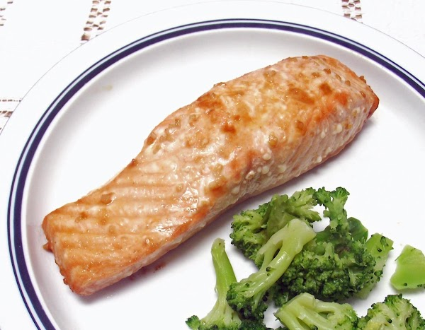 Orange Teriyaki Salmon Recipe