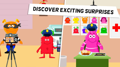 My Monster Town - Police Station Games for Kids - screenshot