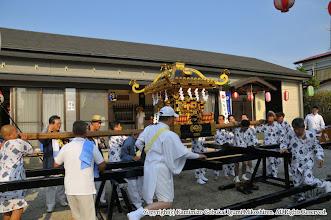 Photo: 【平成24年(2012) 本宮】  元町自治会館にて仕度を開始。
