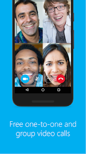 Skype - free IM & video calls Screenshot 1