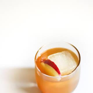 Whiskey Cider Cocktail.