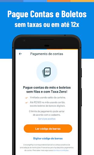 Recarga Celular, Pagar Contas e Boletos Sem Taxas screenshot 1