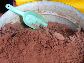 Photo: Ground cacao