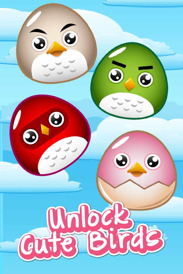 Baby Fat Birds - Sky Fly- screenshot