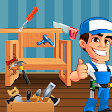 Carpenter Furniture Shop: House Wooden Craft Maker icon