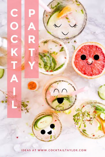 Cocktail Party - Pinterest Pin Template