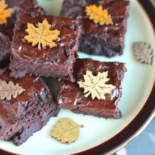 Gluten-Free Chocolate Pumpkin Brownies