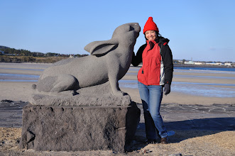 Photo: And she found a rabbit.