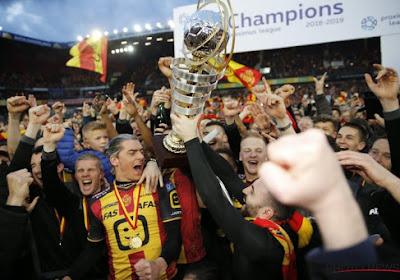 ? Dit schitterend filmpje kregen de spelers van KV Mechelen net voor de aftrap te zien