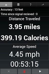 GPS Odometer screenshot 1