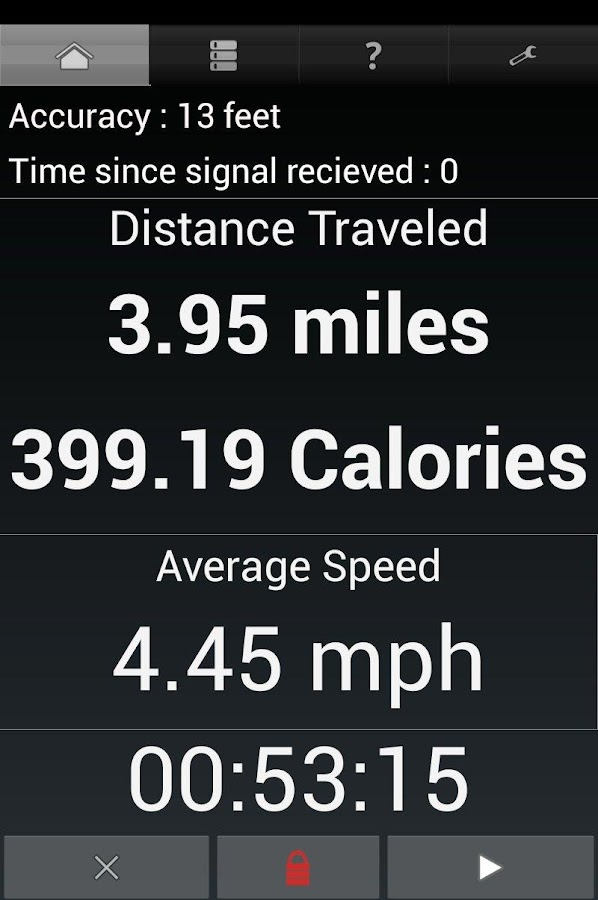 GPS Odometer- screenshot