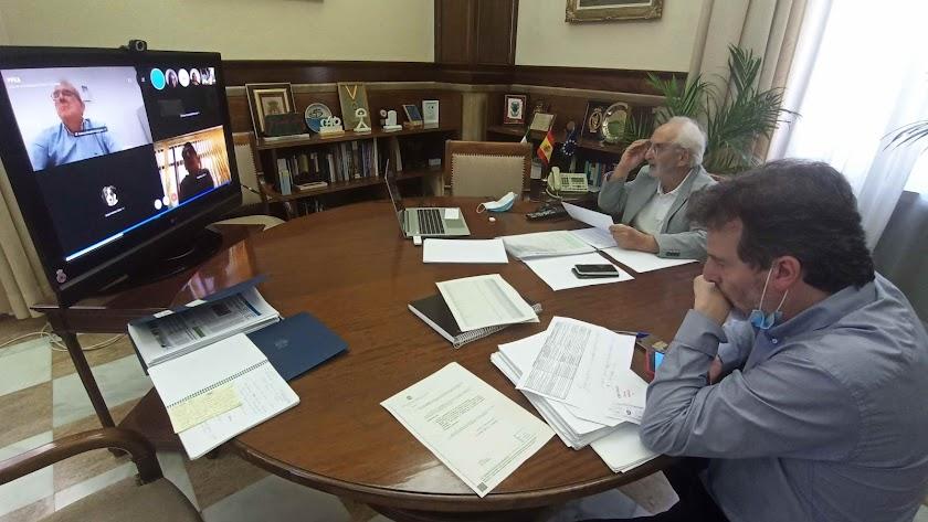 Reunión virtual de la Comisión Provincial del PFEA