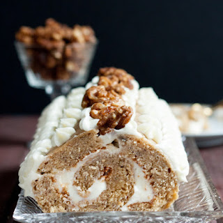 Banana Bread Roll Cake