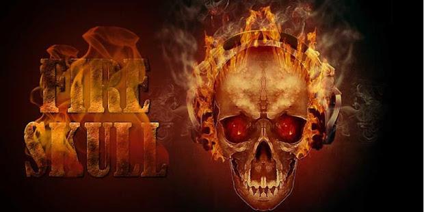 Skull on fire apps on google play screenshot image voltagebd Choice Image