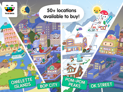 Toca Life World v1.5 APK (Mod Unlocked) Data Obb Full Torrent