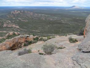 Photo: Peak Eleanora in the distance