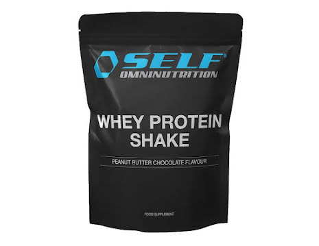 Self Whey Protein Shake 1kg - Peanut Butter Chocolate
