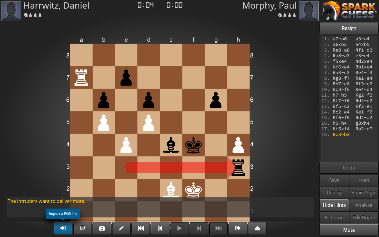 SparkChess HD- screenshot