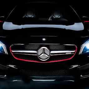 Mercedes CLA45 AMG by Shane McKenzie - Transportation Automobiles ( car, amg, cars, sports car, benz, power, germany, mercedes bens, transportation, success, mercedes, black )