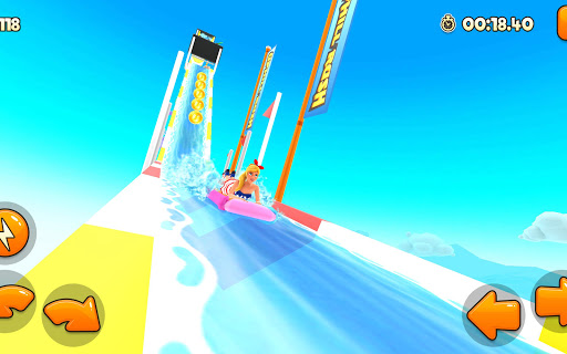 Uphill Rush Water Park Racing android2mod screenshots 15