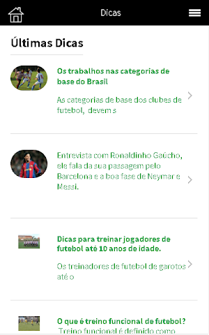 android Quero ser Jogador de Futebol Screenshot 4