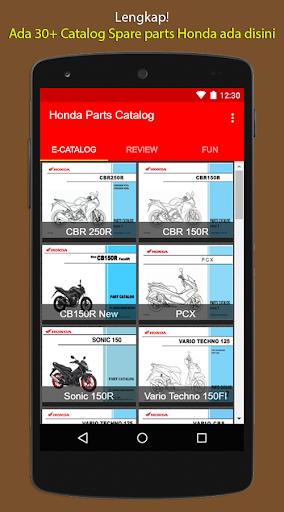 E-Catalog Motor Honda 3.1 screenshots 12