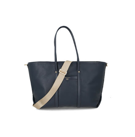 Beck: Large Tote, navy