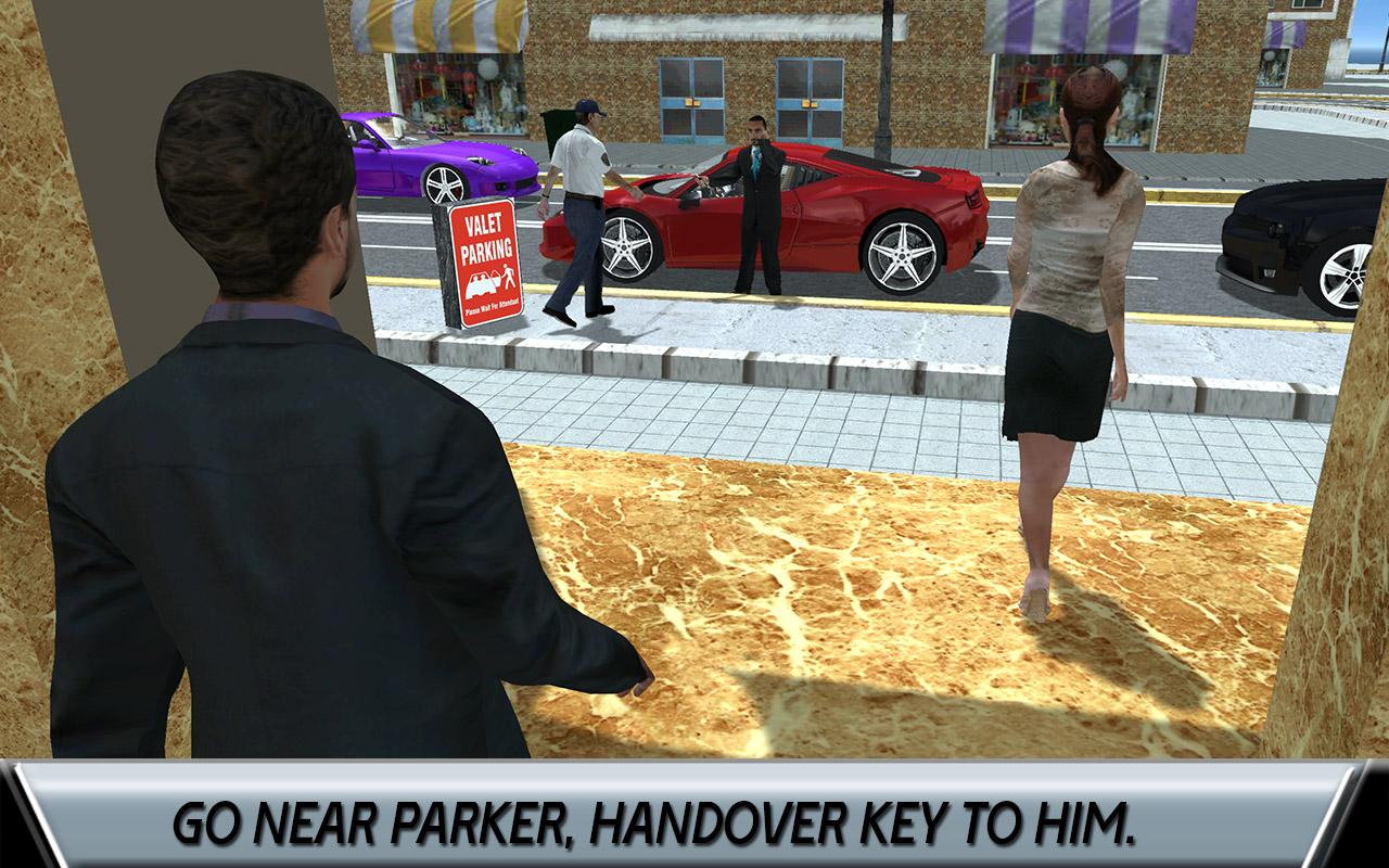 Hotel Valet Car Parking Sim- screenshot