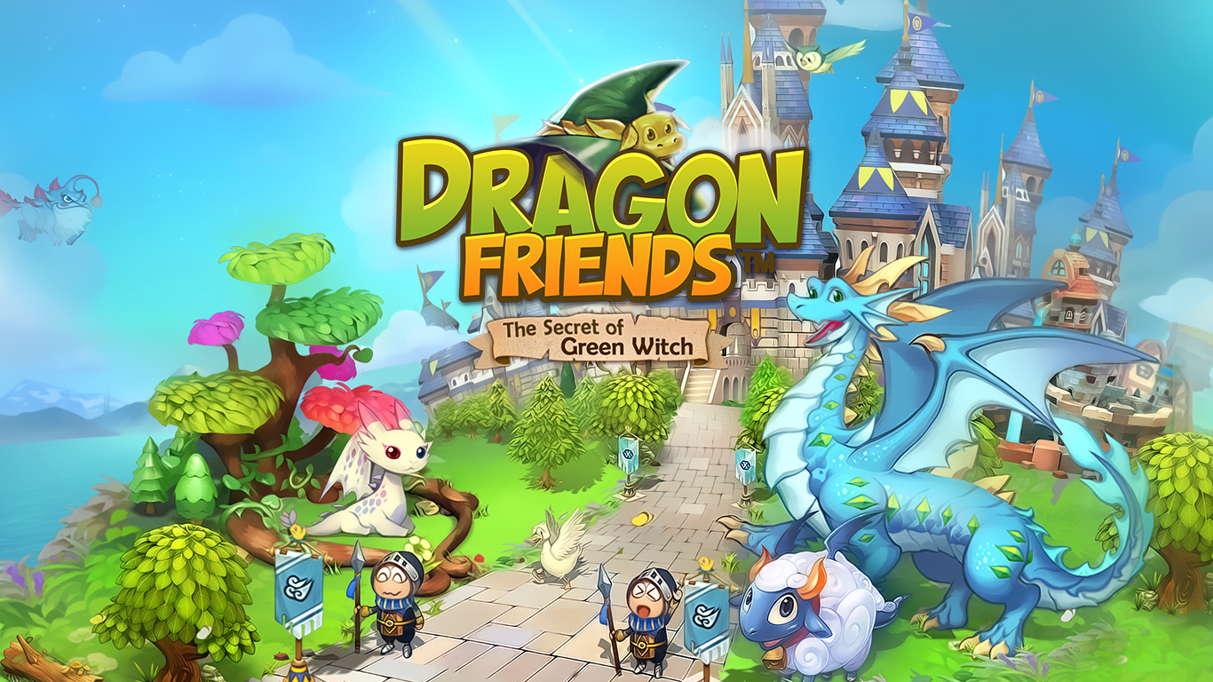 Dragon Friends : Green Witch- screenshot