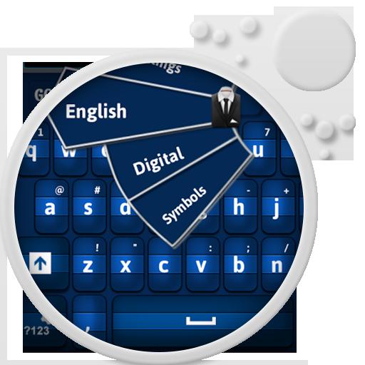 GO Keyboard Blue 個人化 App LOGO-APP試玩