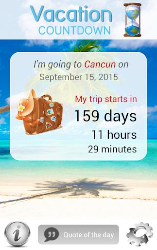Vacation Countdown