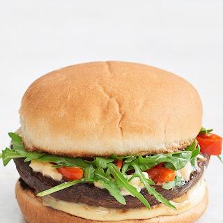 Smoky Portobello Mushroom Cheeseburgers.