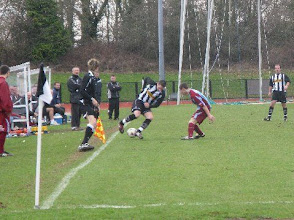 Photo: 28/02/09 v Mangotsfield United (SLP) 1-1 - contributed by Leon Gladwell