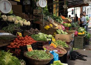 Photo: The vegetable market in Valparaiso