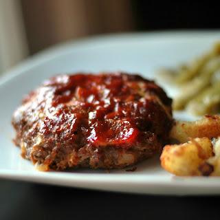 Bacon Cheeeseburger Mini Meatloaf Patties