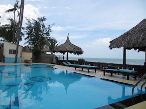 Photo: Year 2 Day 22 - The Hotel Pool, Right on the Beach (Vietnam)