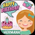 Feliz Cumpleaños Hermana - Imágenes para dedicarle icon